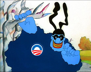Obama Blue Meanie