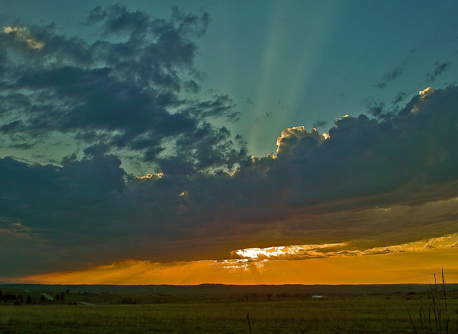 Kiowa, June 11th sunset