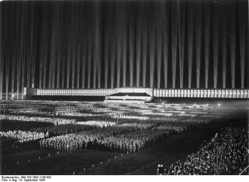 Nuremberg rally Cathedral of Light
