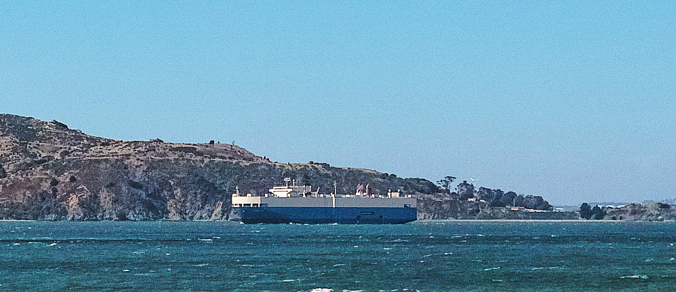 Car carrier outbound empty