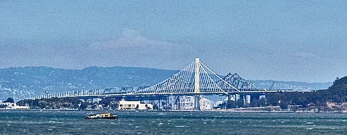 New and Old Bay Bridge sections