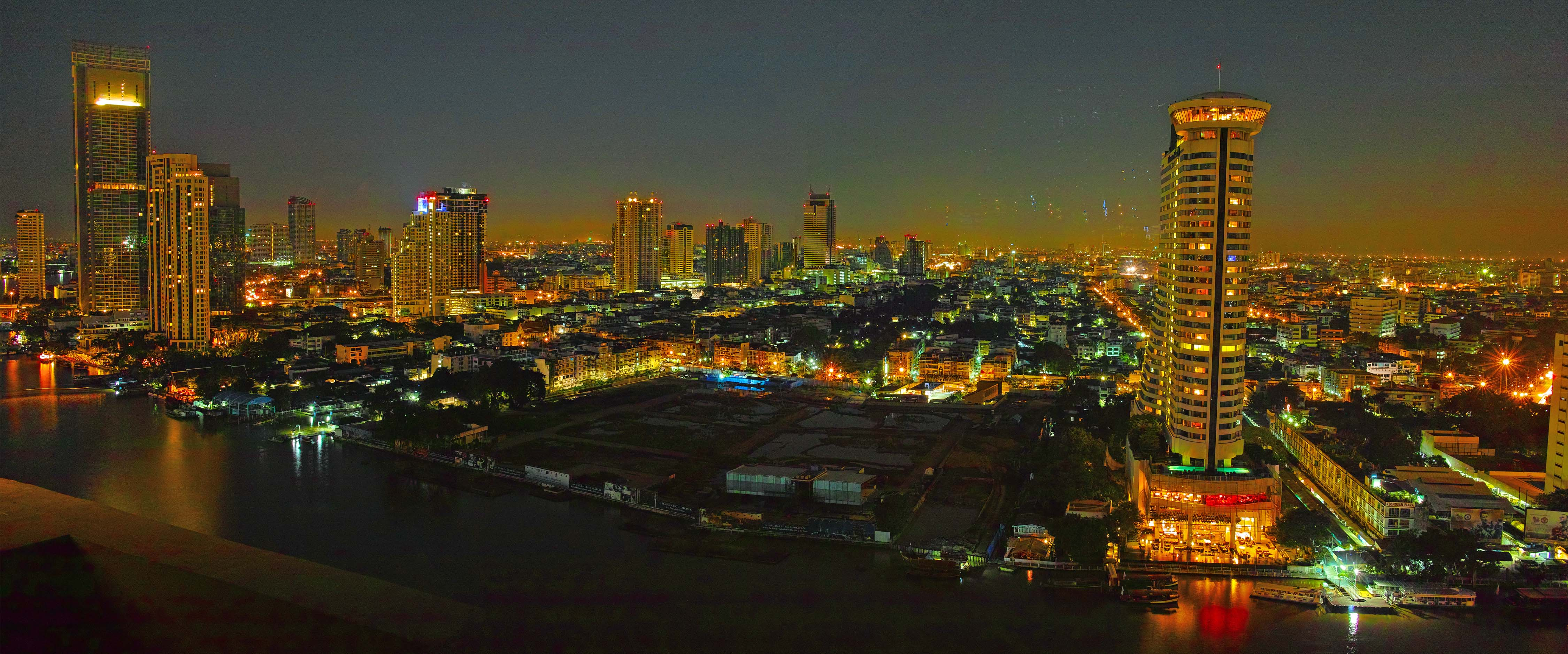 Bangkok looking West
