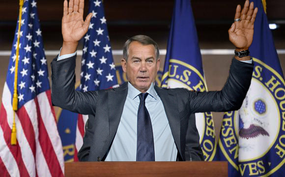 Boehner I give up