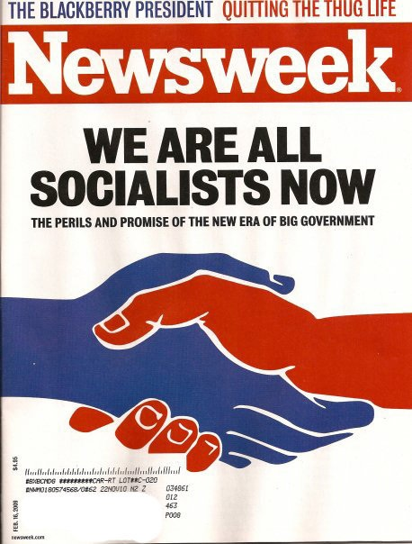 We are all socialists now - Newsweek