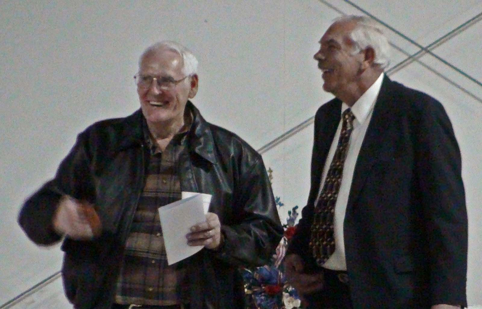 Bill Harris and Bill Frangis