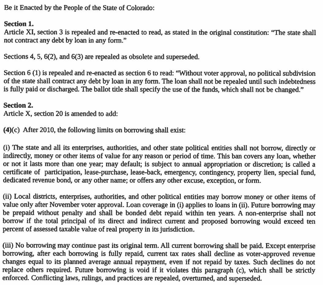 Amendment 61