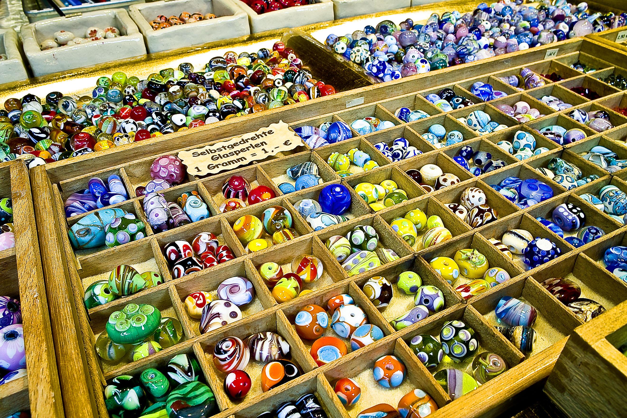 glass beads