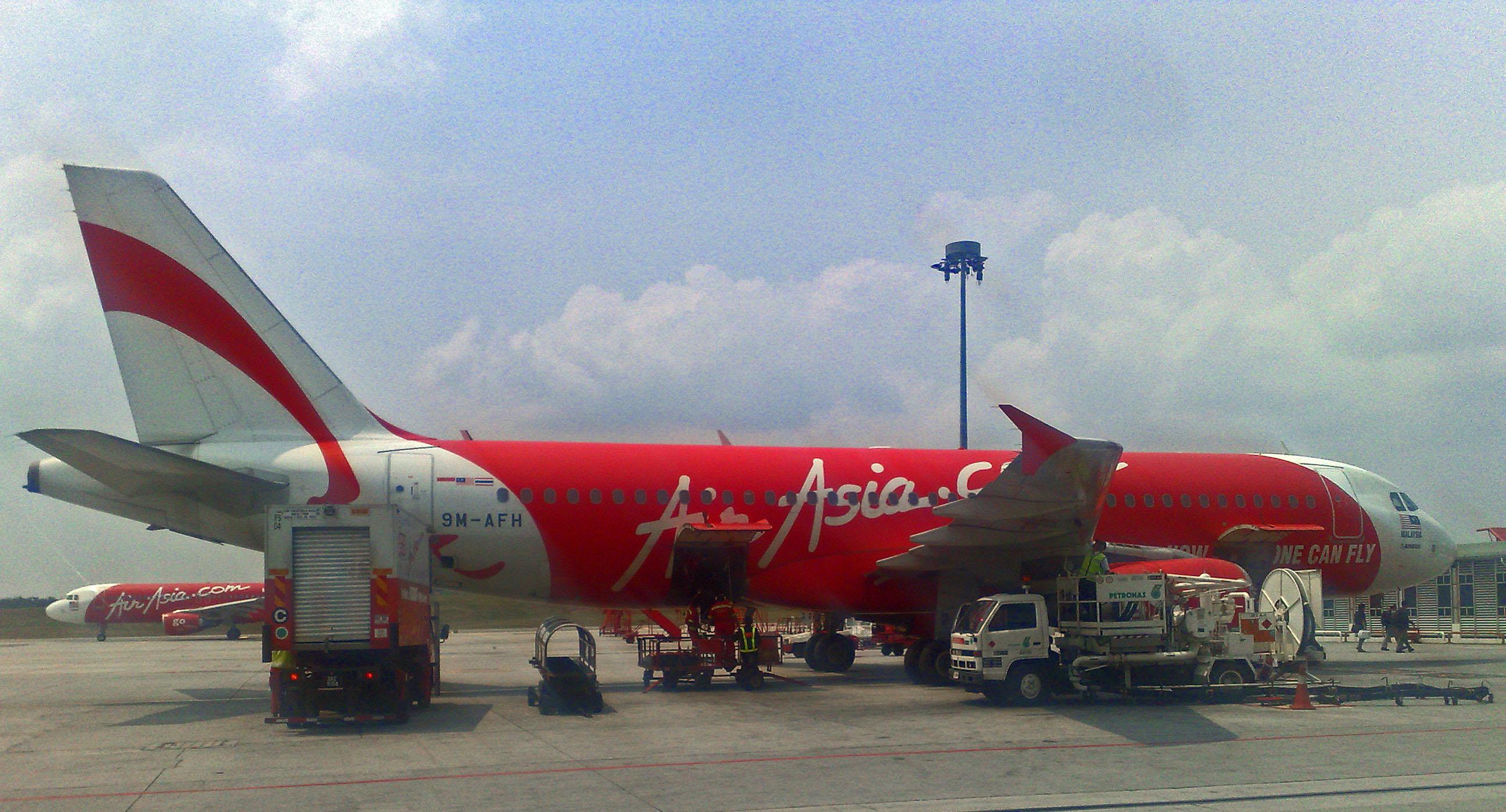 plane from Bangkok