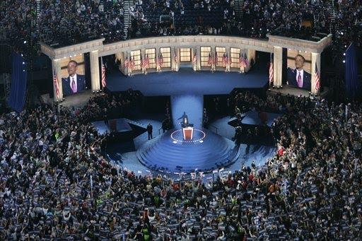 Mile High Stadium Obama acceptance speech