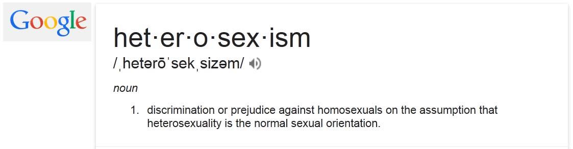 heterosexism definition