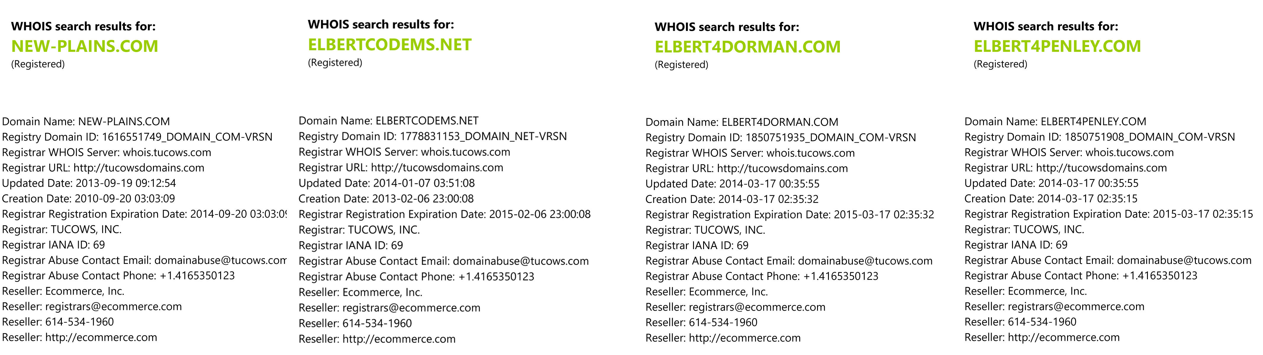 Whois Lookup | Domain Availability - Registration Information
