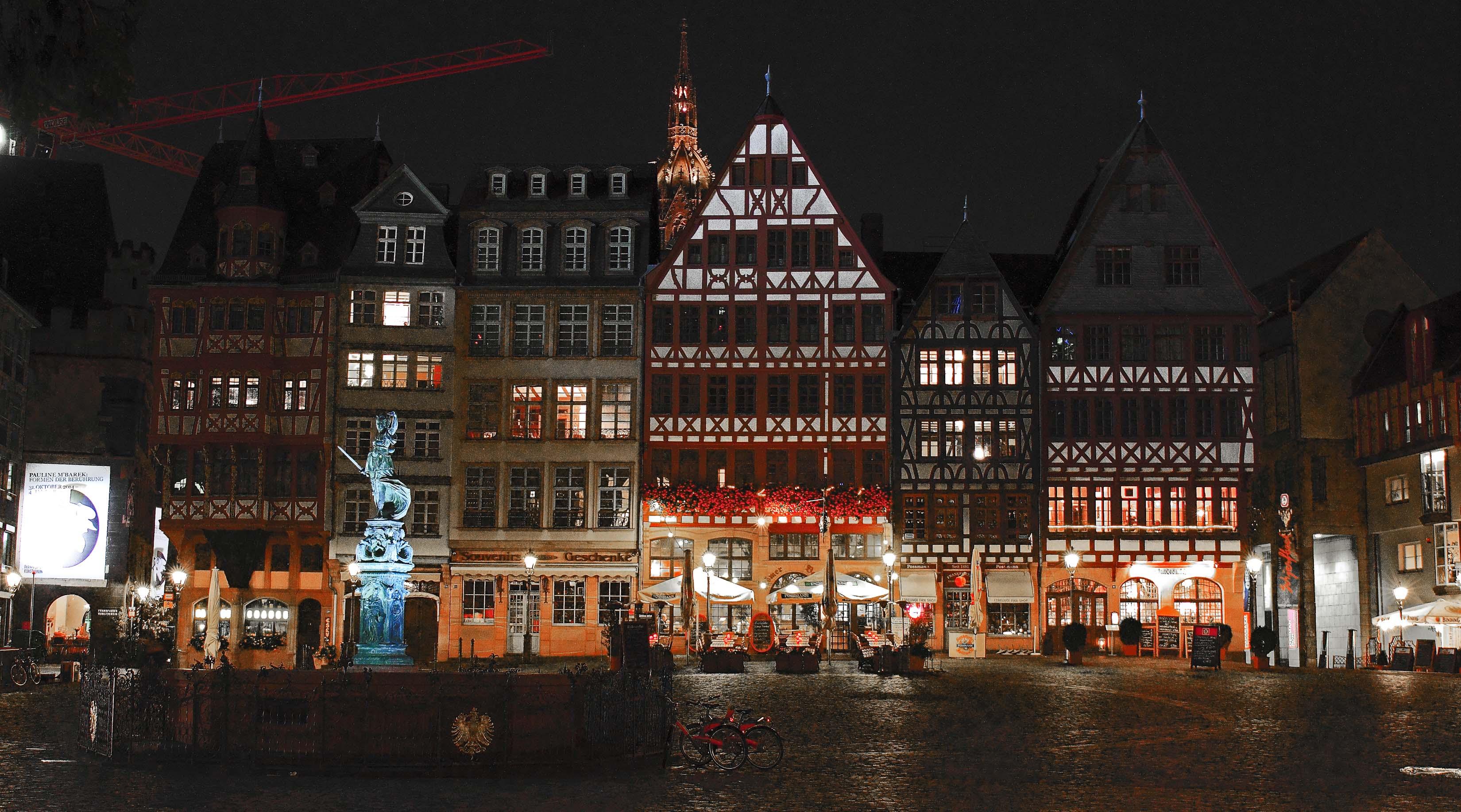 Römer Platz, Frankfurt