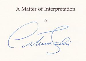 scalia signature